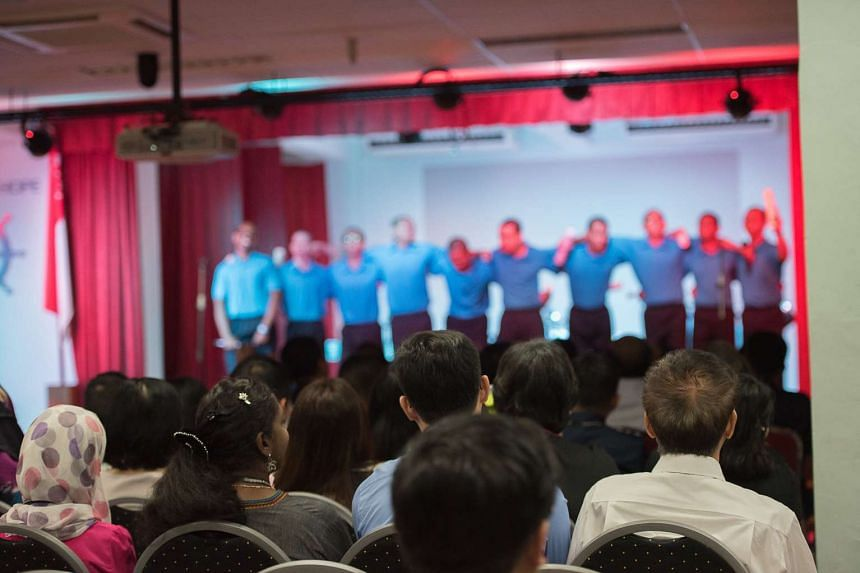 The Singapore Prison Service National Youth Achievement Awards ceremony.