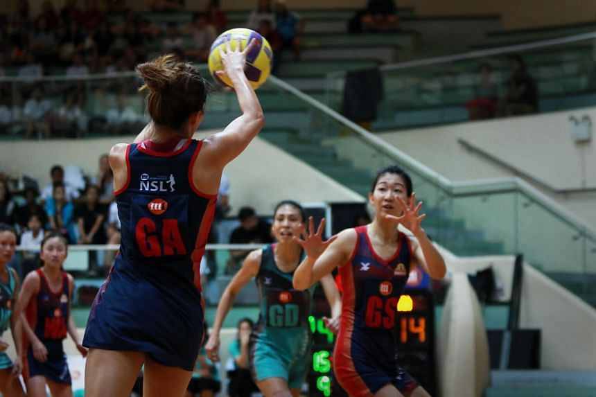 In the final at Toa Payoh Sports Hall, the Mannas dominated the first quarter and carved out a 15-6 advantage.