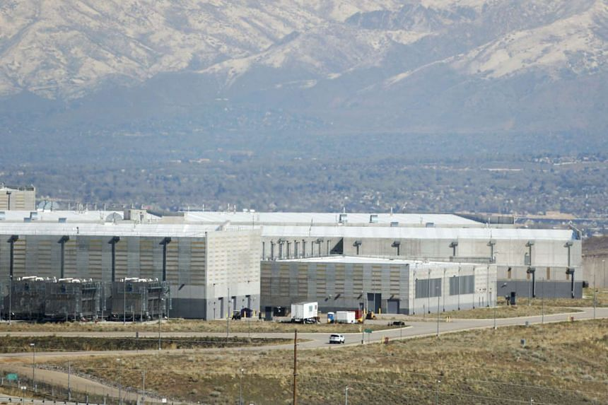 A security car patrols the National Security Agency data centre in Bluffdale, Utah, March 24, 2017.