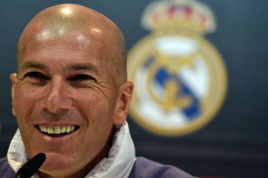 Zidane's (above) parents immigrated to France from Algeria.