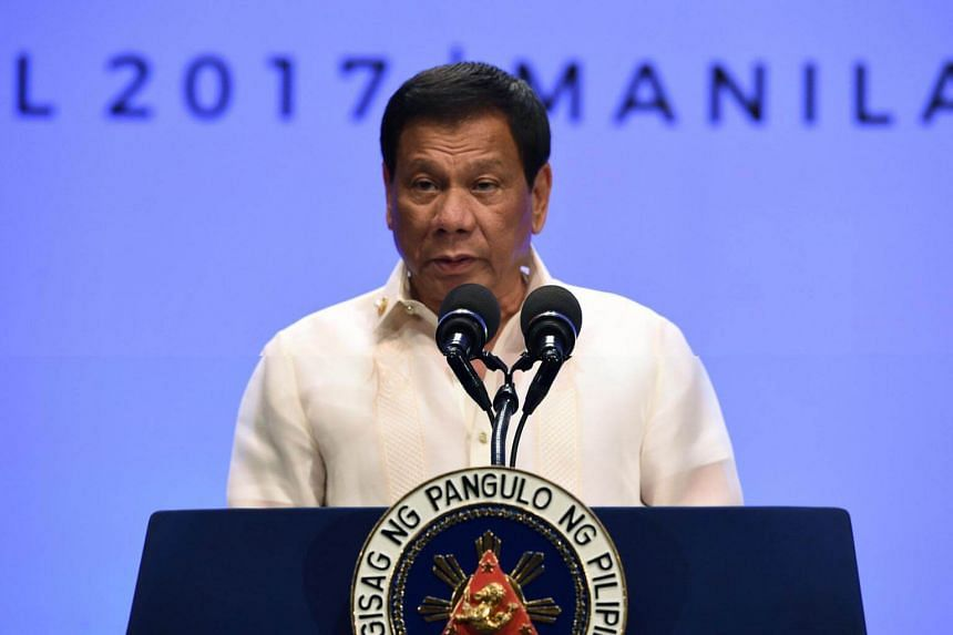 Philippine President Rodrigo Duterte has urged US President Donald Trump not to be taunted by North Korea, because war would be a catastrophe.