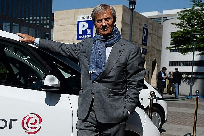 Mr Vincent Bollore acknowledges his battery company, Blue Solutions, is not competitive on prices when it comes to mass production.