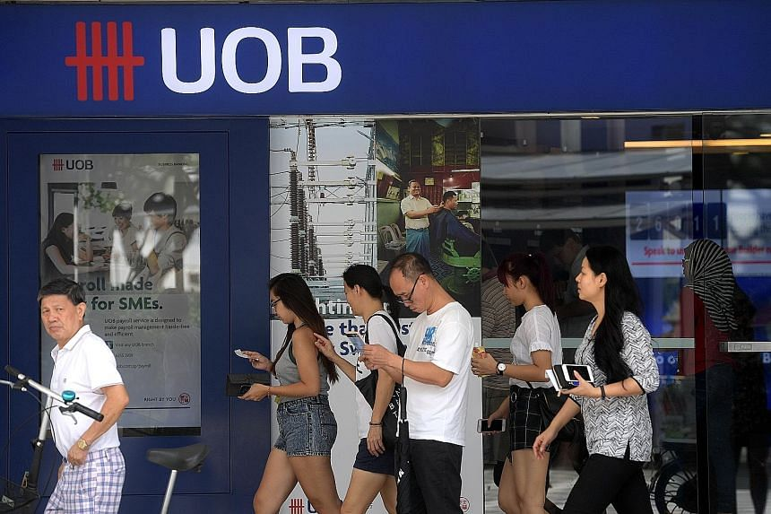 UOB reaped the rewards of a more bullish investment market in the first quarter of this year, with its trading and investment income jumping 20.5 per cent to $243 million.