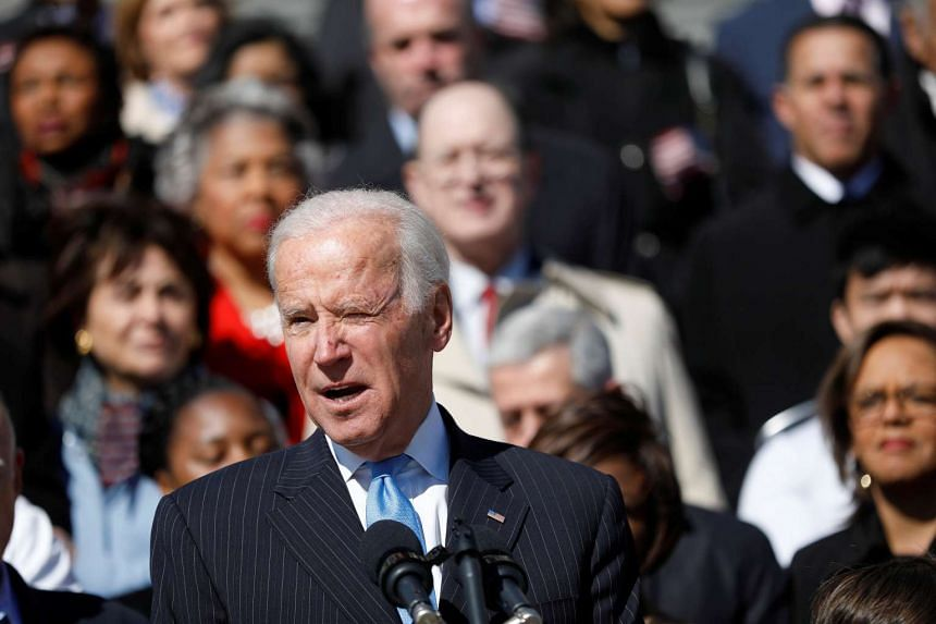 Former Vice President Joe Biden pushed college students to work to combat sexual assault.