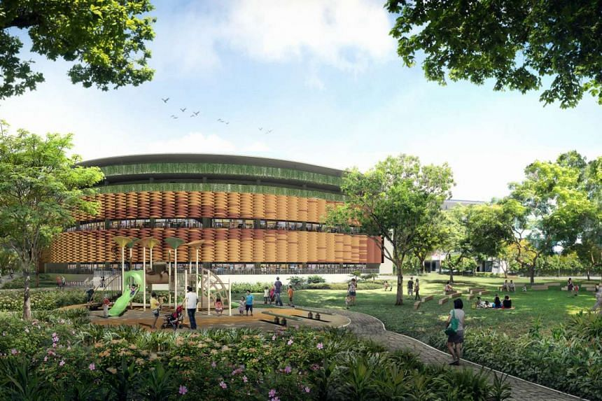 New hawker centre and facilities will be introduced in the Pasir Ris Town Park.