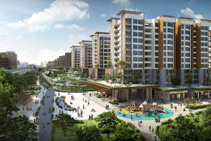 New public housing developments, located next to Pasir Ris Park, will offer a refreshing experience of living by the park.