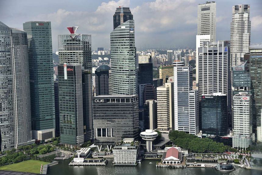 Office rents fell 3.4 per cent in the three months to March 31, from the fourth quarter of last year.
