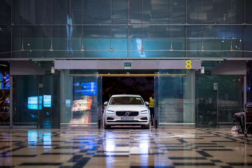 Travellers and visitors who shop at the Changi airport stand to win an all-new Volvo S90 T5 luxury sedan without a certificate of entitlement.