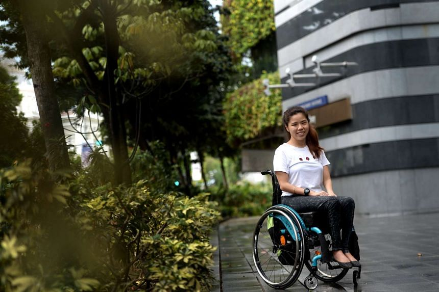 Yip Pin Xiu has welcomed her new role as chief cheerleader at December's Asian Youth Para Games.