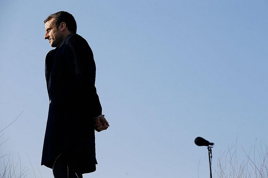 Mr Macron will face off against resurgent far-right leader Marine Le Pen on May 7. If the opinion polls are right, Mr Emmanuel Macron, leading a year-old political movement called En Marche!, is set to be elected president of France with around 60 pe