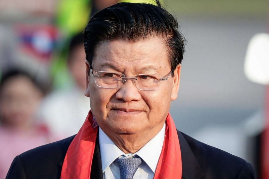 Lao Prime Minister Thongloun Sisoulith will be in Singapore for a one-day visit on Tuesday, May 2, 2017.