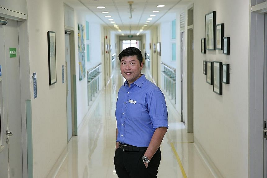 Mr Darren Thng, who worked for more than a decade on glitzy entertainment and design projects, is now a manager at Bright Vision Hospital. He made his foray into the community care sector by joining the Senior Management Associate Scheme, which was s