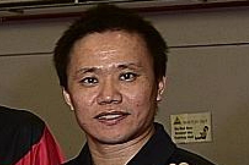 Hao Anlin was a sparring partner for the national team when he first arrived in Singapore in 2005.