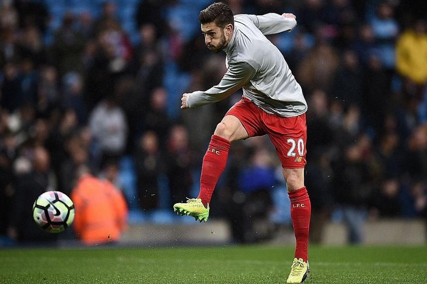Liverpool's key midfielder Adam Lallana will be returning to first-team action, following an injury-enforced absence.