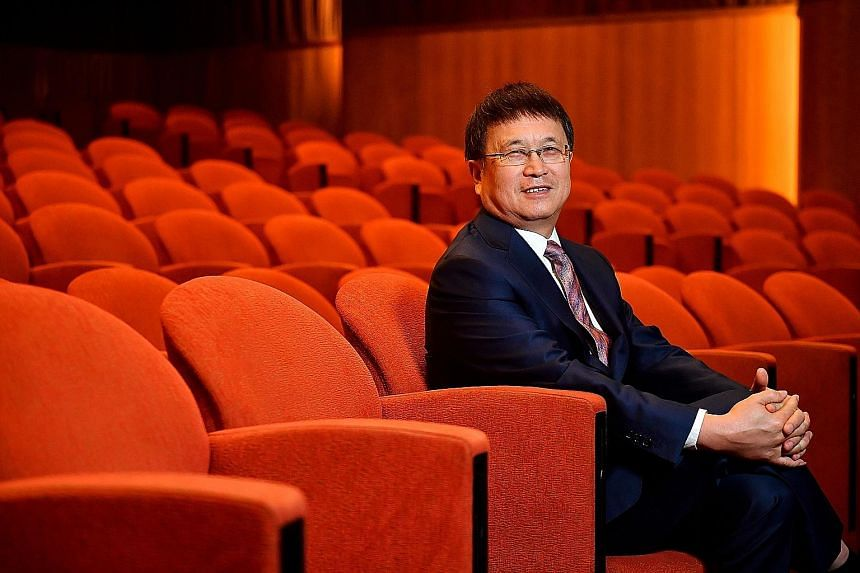 """Mr Ren Yuanlin, executive chairman of Singapore-listed Yangzijiang Shipbuilding (Holdings), says the industry still has """"a few bright spots"""", such as demand for very large ore carriers and clean-energy vessels."""