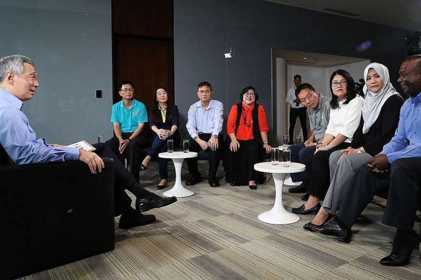 At a dialogue with Prime Minister Lee Hsien Loong on April 18, union leaders shared their worries and hopes concerning job prospects in their sectors.