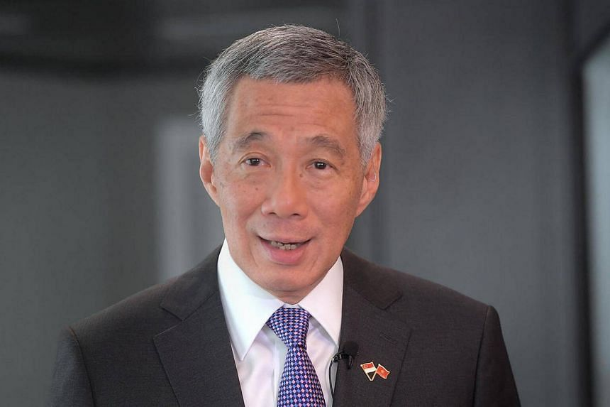 Mr Lee said prospects for international trade remain uncertain as the US' attitude has changed.