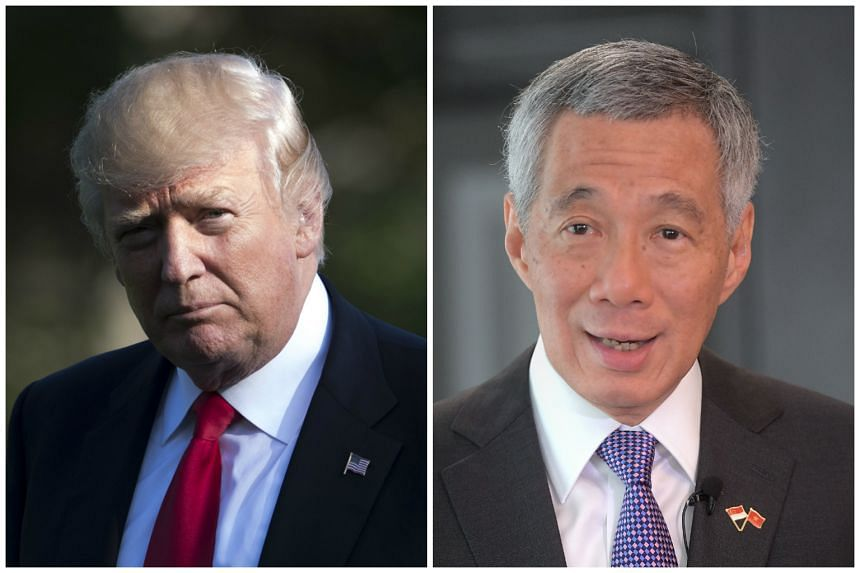 US President Donald Trump has invited Prime Minister Lee Hsien Loong to the White House.