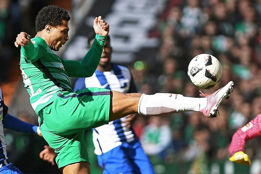 """After being shunned by Arsenal, Serge Gnabry has scored 10 goals for Werder Bremen in the Bundesliga, but says the """"tough time"""" in England helped him to become a much more resilient player."""