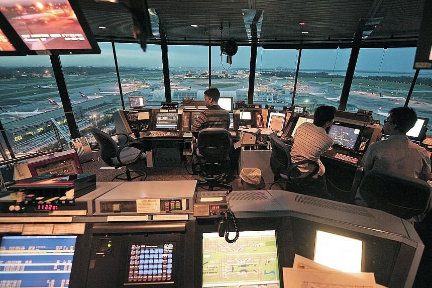 Air traffic controllers, who now have to see the planes from a control tower to guide flights, will be able to work from a windowless room in future, thanks to advancements in video and display technology. However, Changi plans to retain physical con