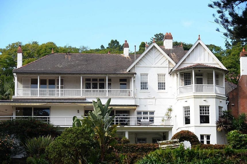 "The iconic ""Elaine"", built in 1863, is part of an estate located on the waterfront of Sydney's Point Piper suburb."