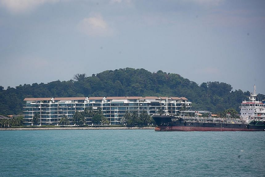 The second-largest profit recorded for a Sentosa Cove property transaction in the past 12 months was at The Azure, where a 294 sq m unit was sold last May for a $1.158 million profit, 10 years after it was bought. The largest profit was made with the