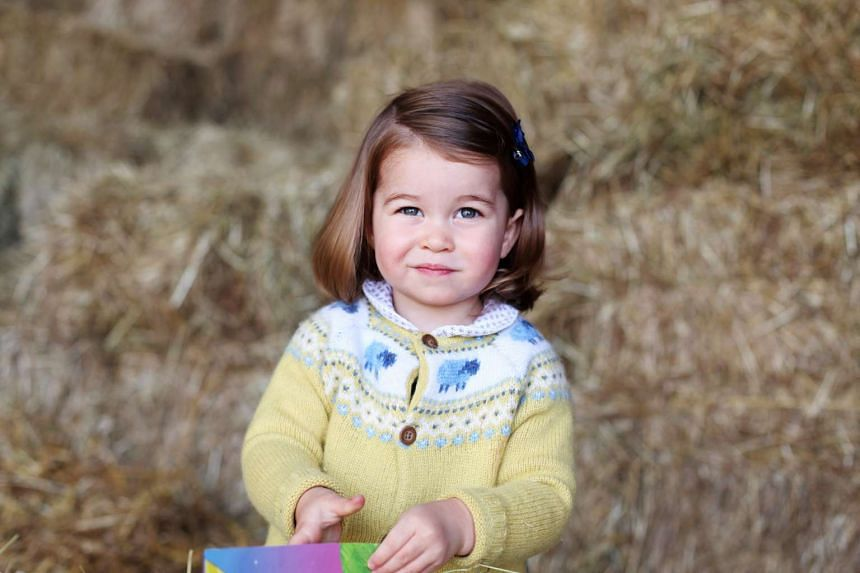 Princess Charlotte looks positively cherubic in the new photo released by Kensington Palace.