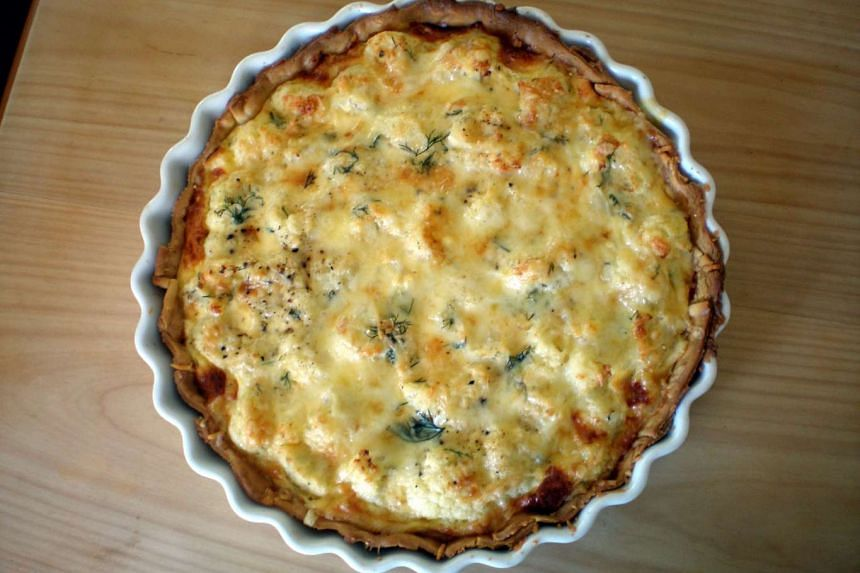 Three recipes for quiche including one that uses a store-bought puff pastry.