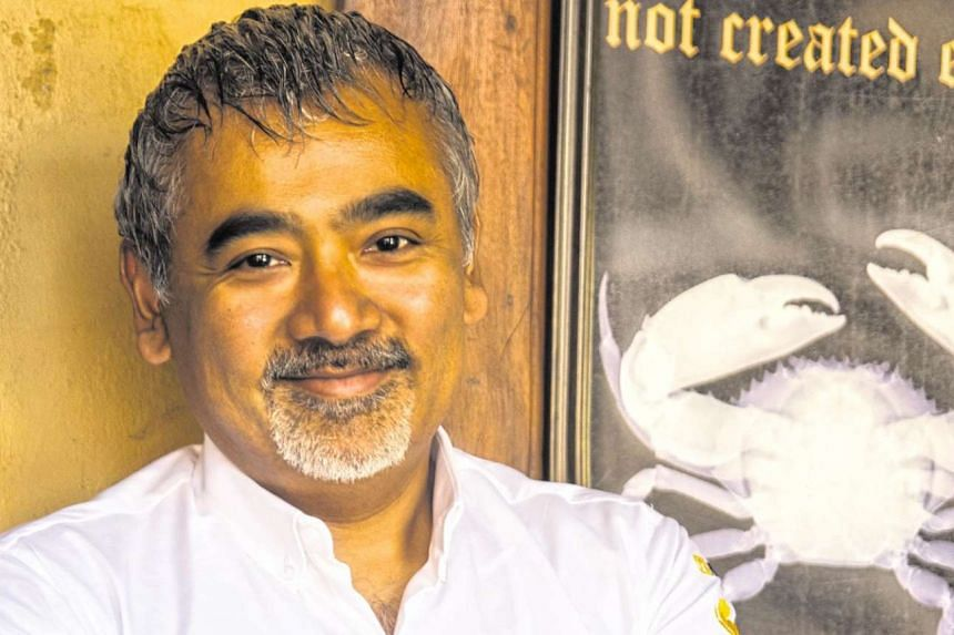Chef Dharshan Munidasa of  Ministry Of Crab in Sri Lanka.