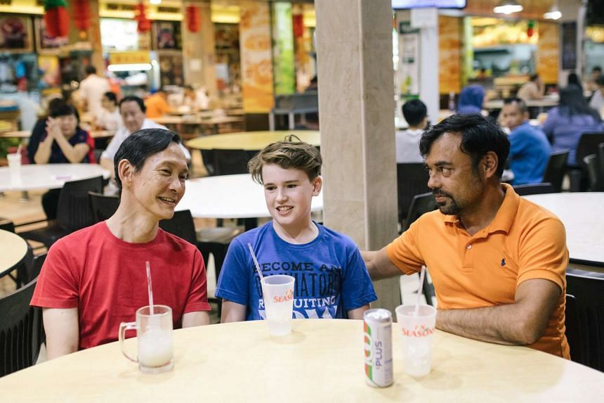 (From left) Koh Boon Pin, Dylan Jenkins and Emil Marwa star in Tango, the first of two original plays that Pangdemonium will put on this year.