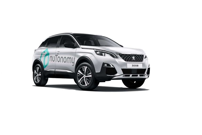 By September, two driverless Peugeot 3008 autonomous cars will be on the streets of Singapore.