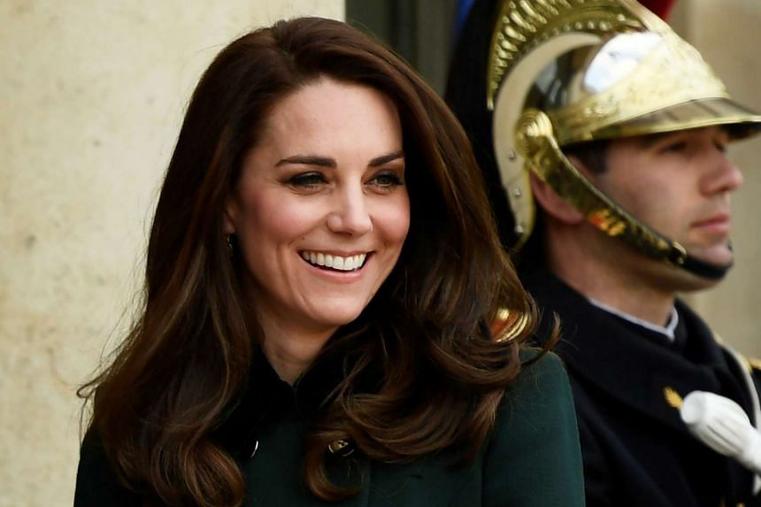 Kate, the Duchess of Cambridge, during a visit to France on March 17, 2017.