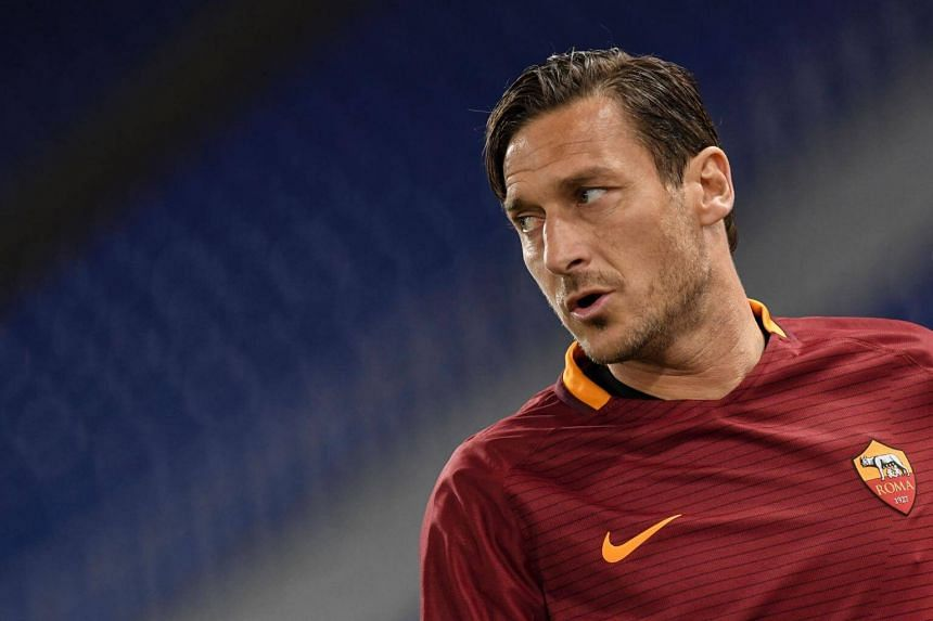 Roma forward Francesco Totti will retire from football at the end of the season, said the club.