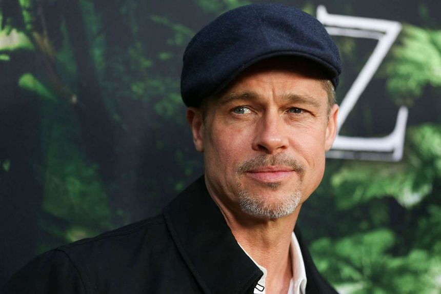 Executive producer Brad Pitt attends the premiere of Amazon Studios' The Lost City Of Z in April 2017.
