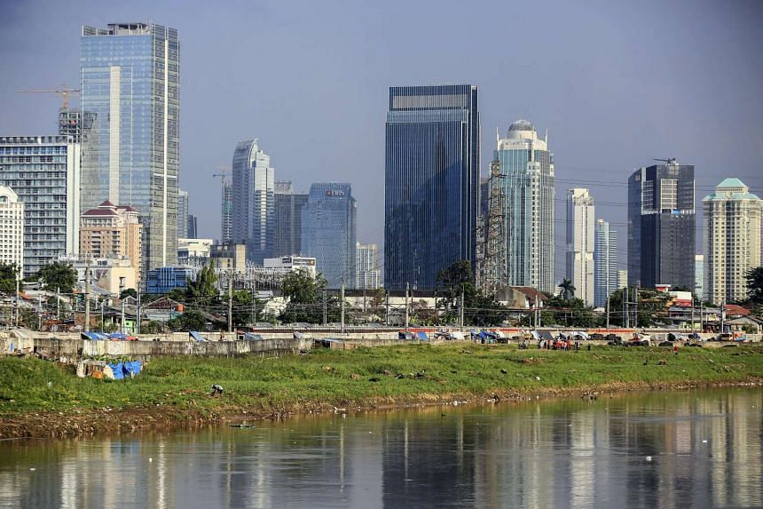 Indonesia's economy is expected to have grown slightly faster in the first quarter of 2017.