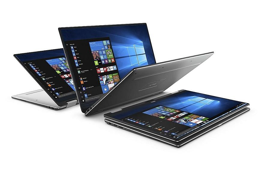 The Dell XPS 13 2-in-1 convertible's edge-to-edge touchscreen is stunning and looks as clear as the day even from the sides.