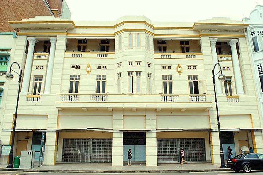 The heritage state property occupying 26, 28, 30, 32 and 36 Orchard Road is up for an initial three-year tenancy.