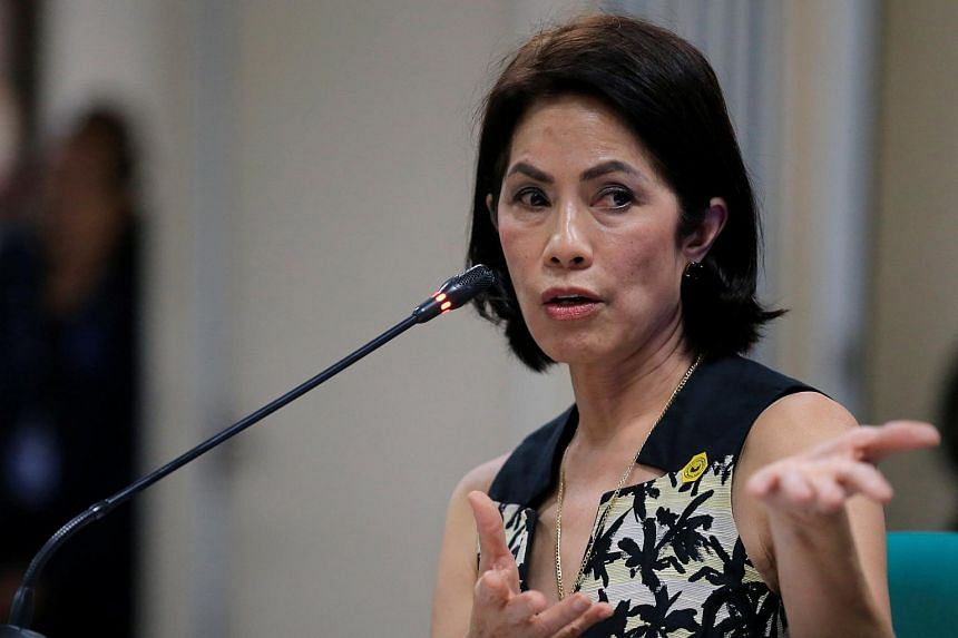 Philippine lawmakers on Wednesday (May 3) voted to reject the appointment of Regina Lopez as environment minister.