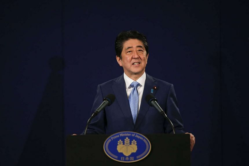 "An ""increasingly severe security environment"" makes it timely to revise the Constitution, Japanese PM Shinzo Abe says."