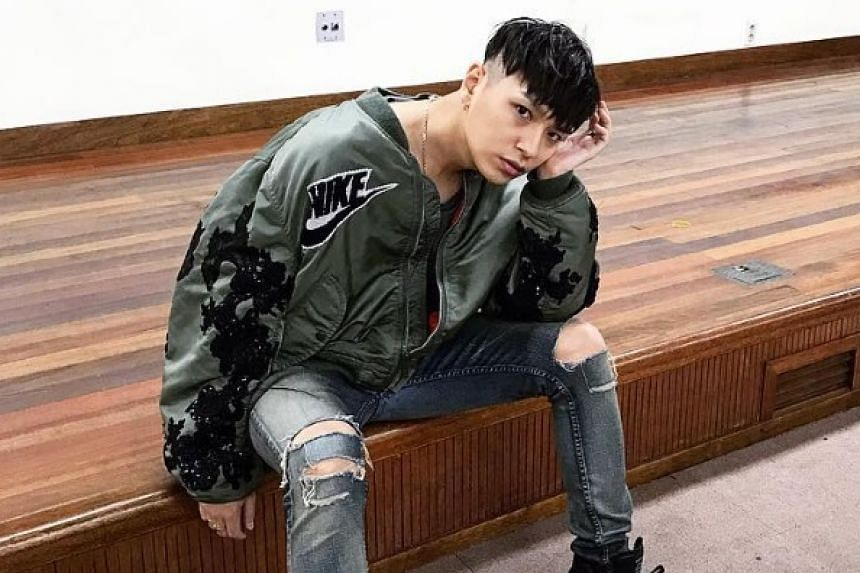 Two female students have been arrested for misusing their boarding passes to meet their idol, Korean hip-hop artiste Simon Dominic, in the transit area of Changi Airport with no intention of departing Singapore.