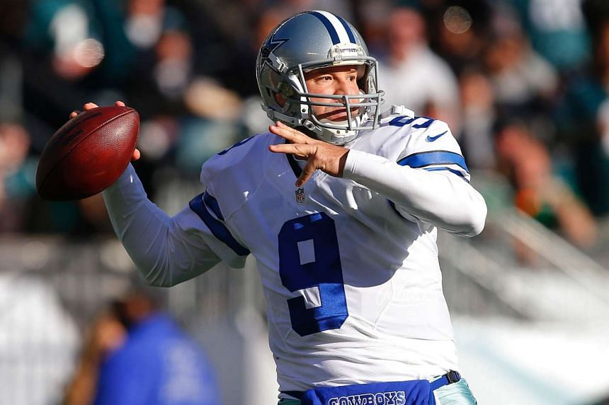 Retired Dallas Cowboys quarterback Tony Romo in a file photo taken on Dec 31, 2016.