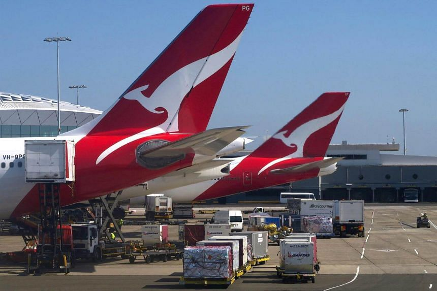 Qantas sees competitors slowing capacity growth, which would ease things for the Australian carrier.