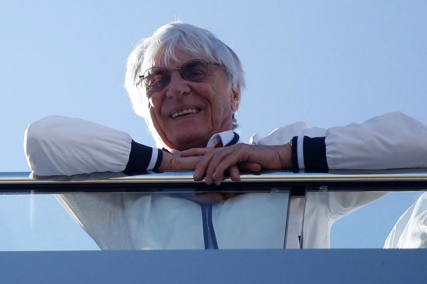 Bernie Ecclestone stepped down from his post as Formula One chairman in January.