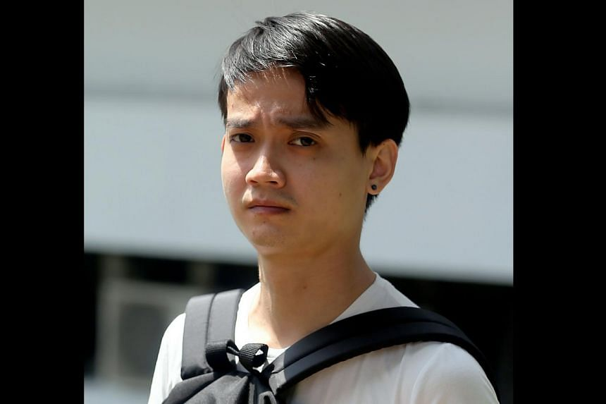 Malaysian Thian Kit Siong, 33, was sentenced to 12 months' jail for insulting the modesty of a woman.