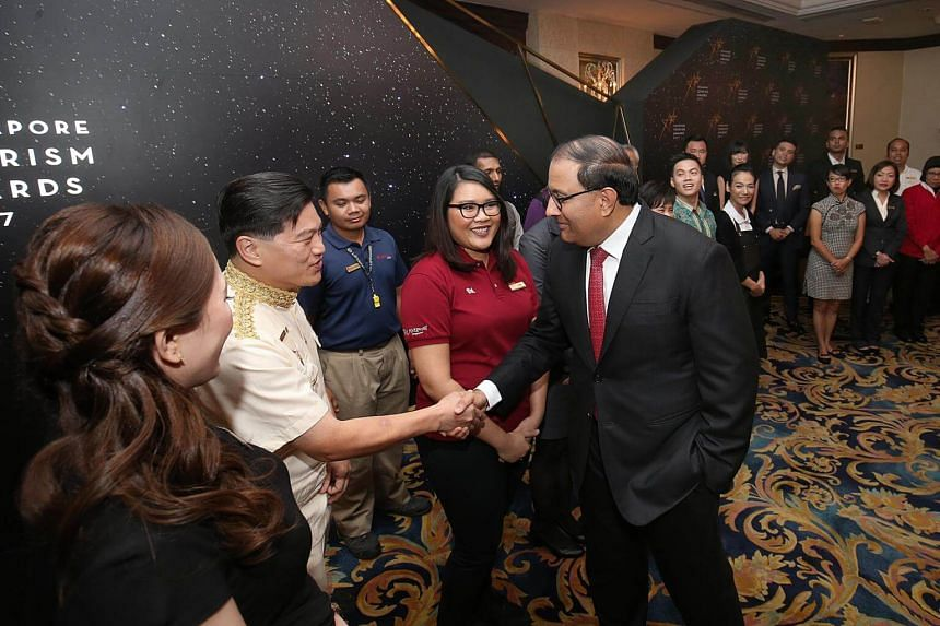 Minister for Trade and Industry S. Iswaran was the guest-of-honour at the Singapore Tourism Awards.
