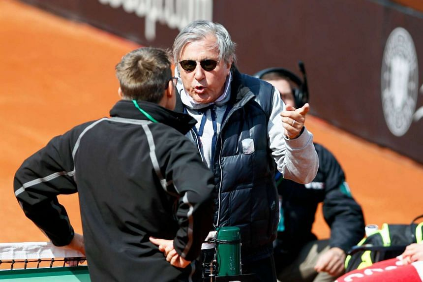 Ilie Nastase was provisionally banned from all International Tennis Federation (ITF) after an incident of verbal abuse in a Fed Cup tie match.