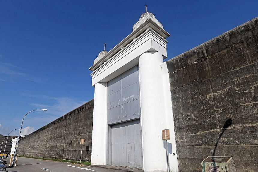 The 180m stretch of wall at Changi Prison, along with its double-leafed steel entrance gate and two corner turrets, was gazetted as a national monument on Feb 15 last year.