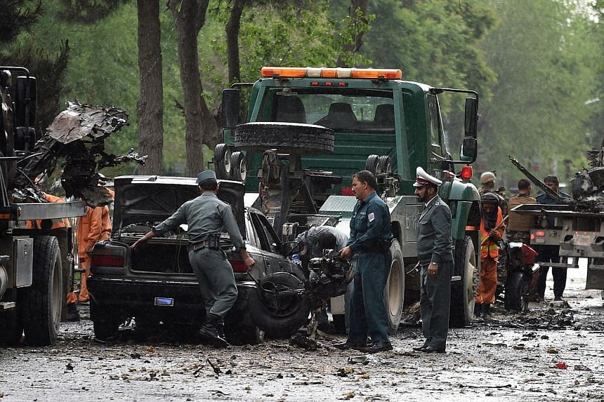 Yesterday's suicide attack on a Nato convoy of armoured personnel vehicles during Kabul's morning rush hour near the US embassy killed eight civilians and injured at least 25 others.