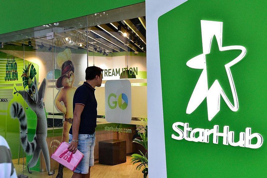 StarHub's first-quarter core business performance was mixed. Mobile revenue dropped 0.6 per cent to $296.2 million, while the mobile customer base of 2.29 million users was down from 2.31 million in the fourth quarter last year.