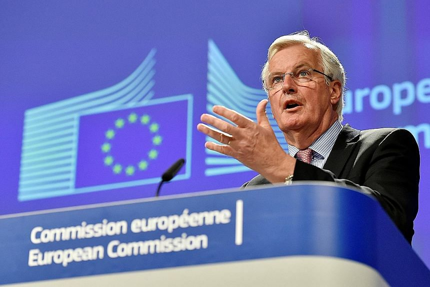 "EU chief Brexit negotiator Michel Barnier yesterday said calculations of what Britain owes would be based on ""rigorous methodology"". He also warned against the ""illusion"" that leaving the EU would be quick or painless."